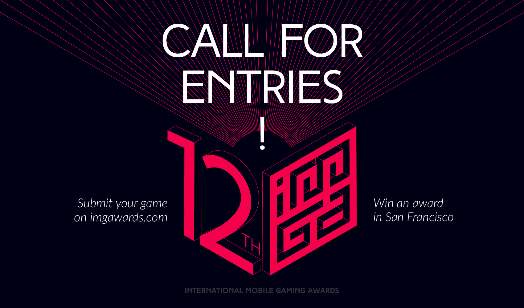 The 12th IMGA Call for Entries Is Now Open