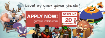 Apply for GameFounders' Spring 2016 Asia