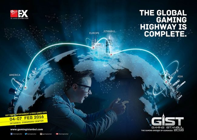 GIST 2016, the gaming bridge of Eurasia in Istanbul