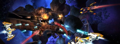 Control Your Spaceship With Your Head in Anshar Wars 2