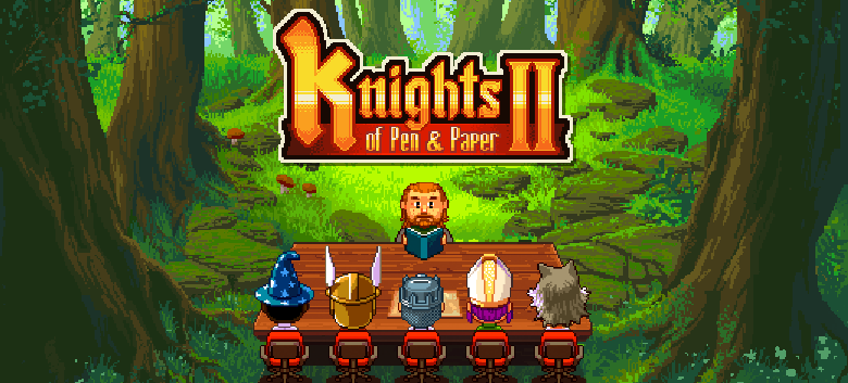 Go with Knights of Pen & Paper 2 Into A Pixel-Art Adventure