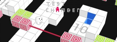 Test Chamber, A Highly Accessible Non-euclidean (Wrapping) World