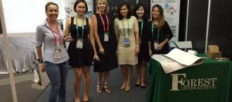 At Mobile Game Asia 2016 in Kuala Lumpur