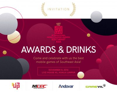 awards and drinks