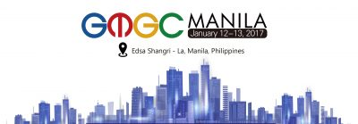 Join our partner's conference – GMGC Manila on 12th-13th January 2017