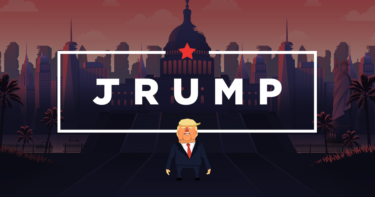 Jrump: a Game of Jumping and Politics