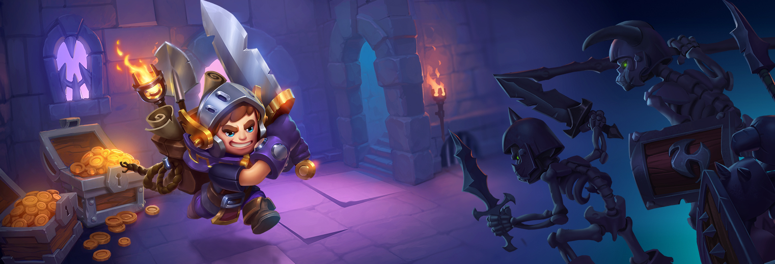 Discover Nonstop Knight, a great RPG to play with one thumb