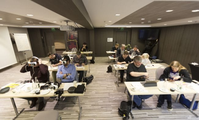 More photos of the IMGA judging session