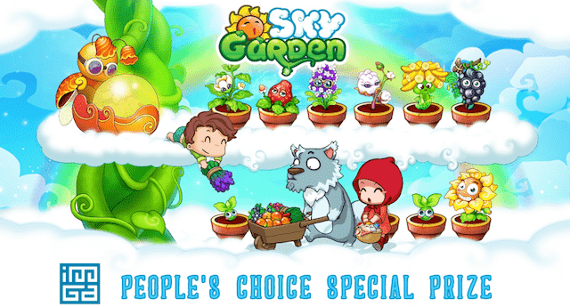 People have chosen to farm in the paradise of Sky Garden!