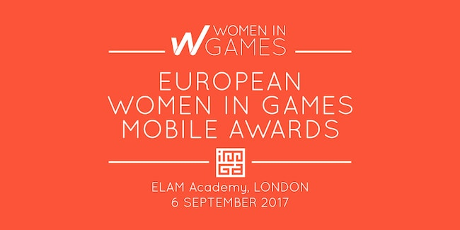 Announcing the 1st edition of the Women in Games Mobile Awards