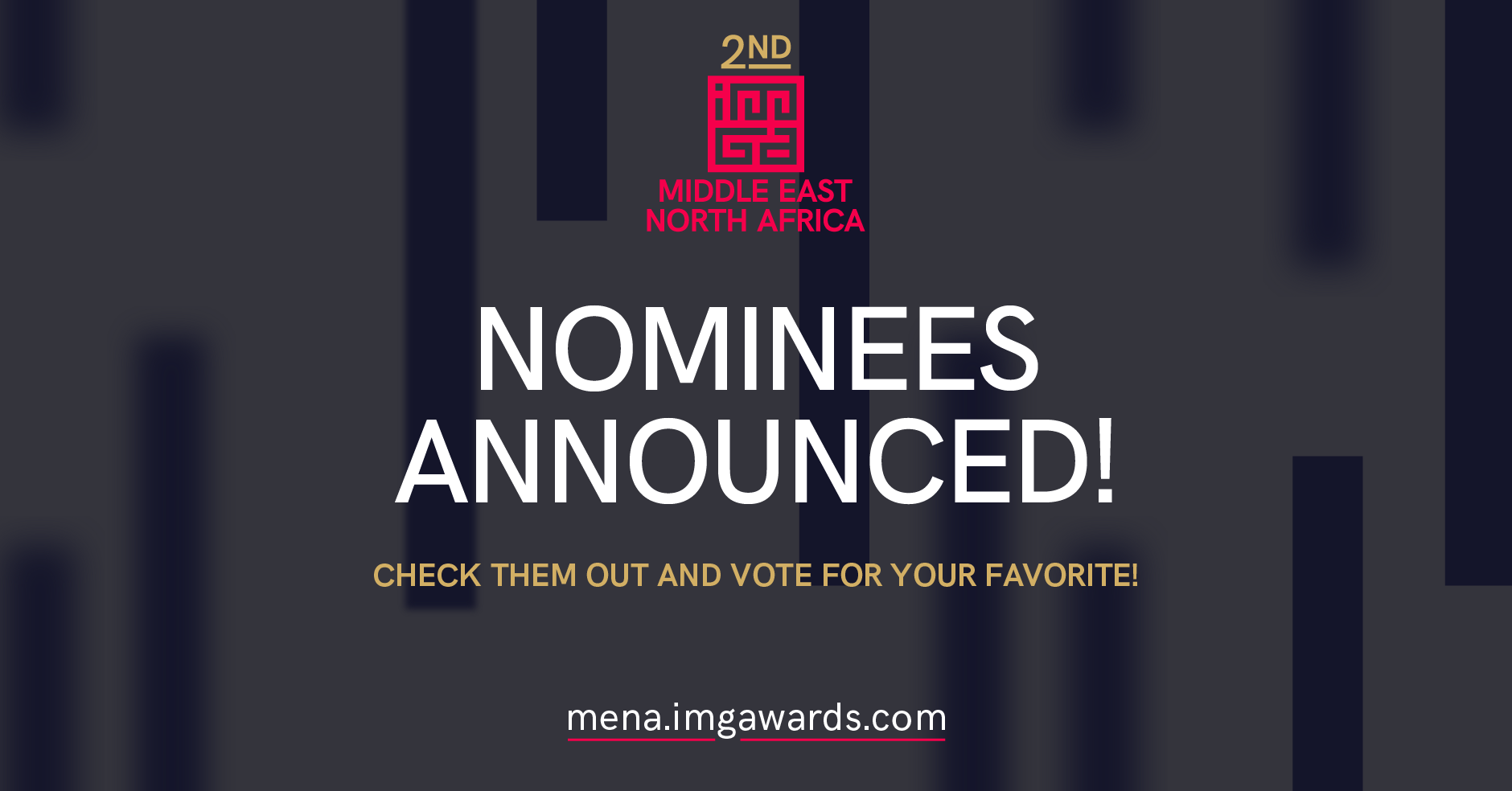 Nominations Announced For The 2nd IMGA MENA