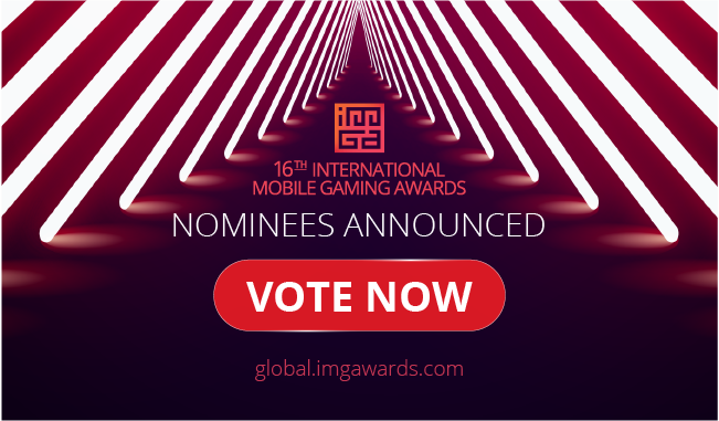 """16th International Mobile Gaming Awards Announces its Nominees A new category launches: """"Best Game for 5G"""""""